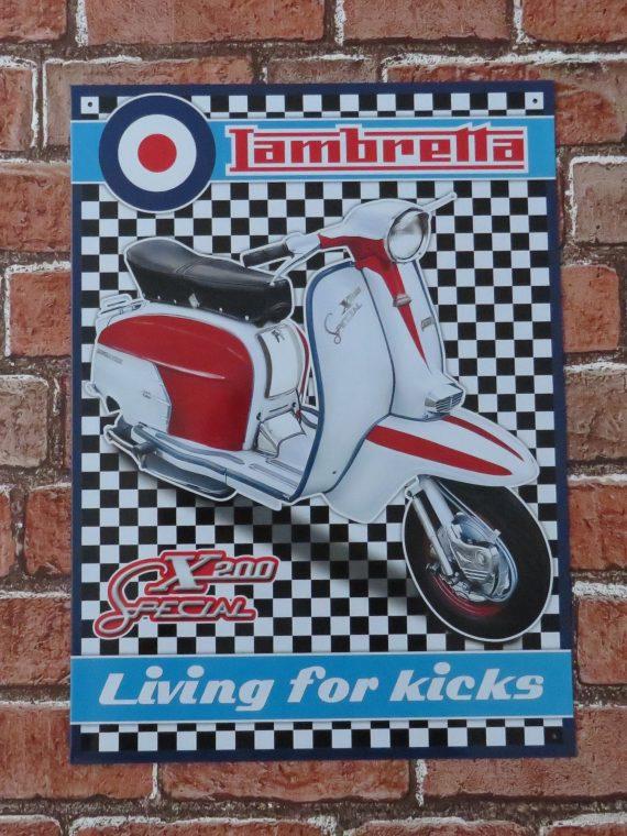 Lambretta – Living for kicks