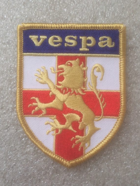 Vespa St. George Shield Design Patch