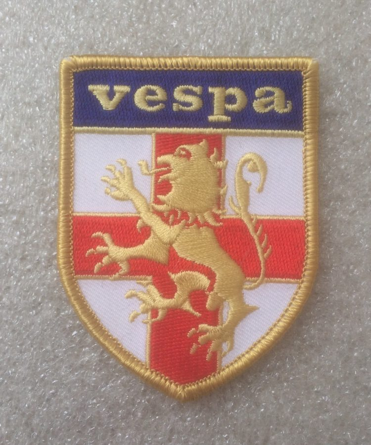 Vespa St. George Shield Design Patch