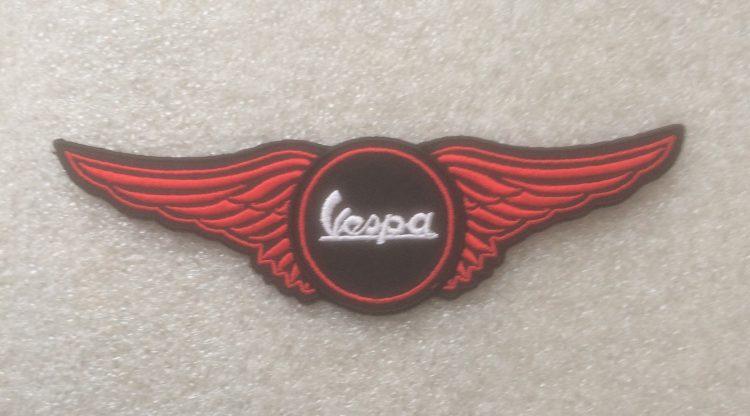 Vespa Wing Design Patch