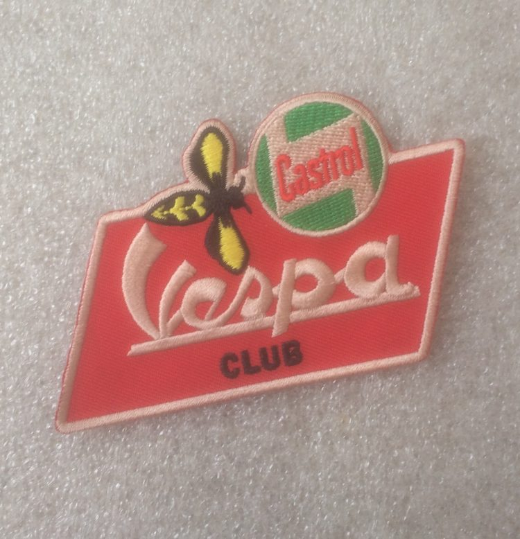 Vespa Club Design Patch