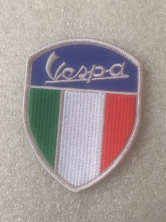 Vespa – Italian Flag Shield Design