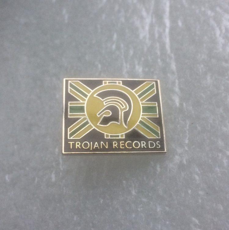 (2) Trojan Records - Enamel Badge