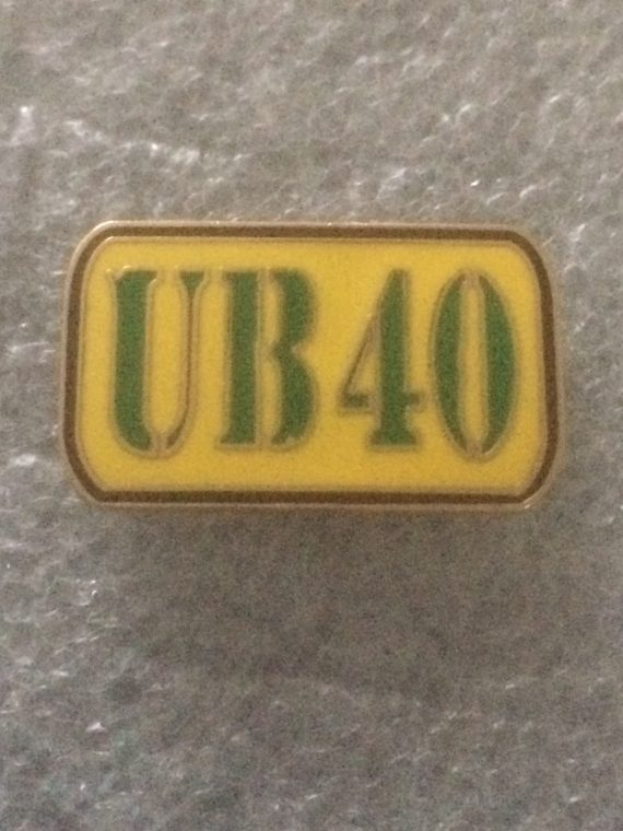 (2) UB40 Enamel Badge - Birmingham Reggae Legends