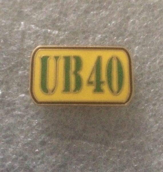 (2) UB40 Enamel Badge - Birmingham Reggae Legends
