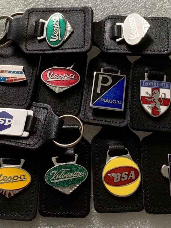 Historical Scooter & Motorcycle Key Fobs