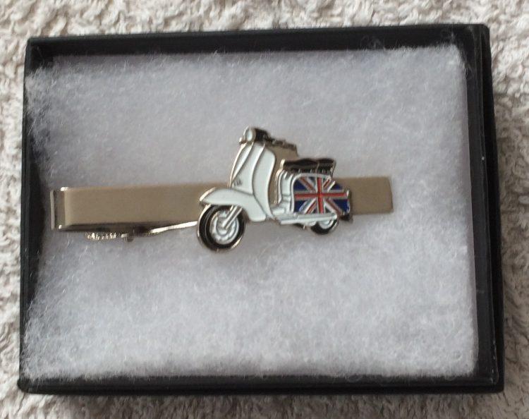 Lambretta small union jack tie clip