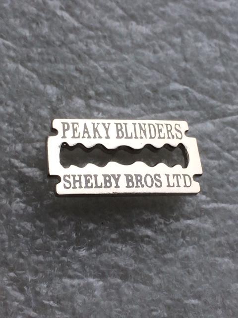 Peaky Blinders Shelby Bros Ltd razor blade