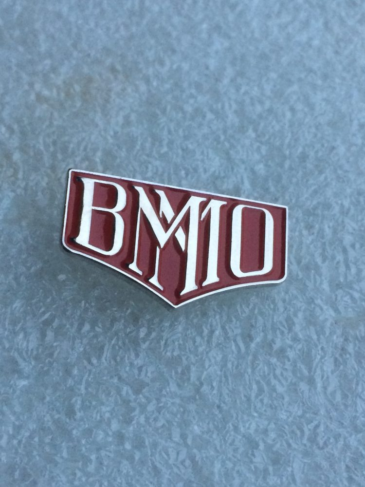 BMMO enamel badge