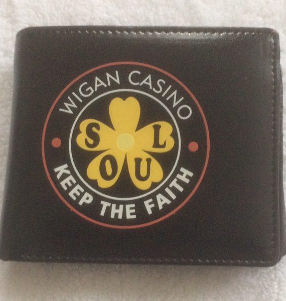 Wigan Casino Keep The Faith Wallet