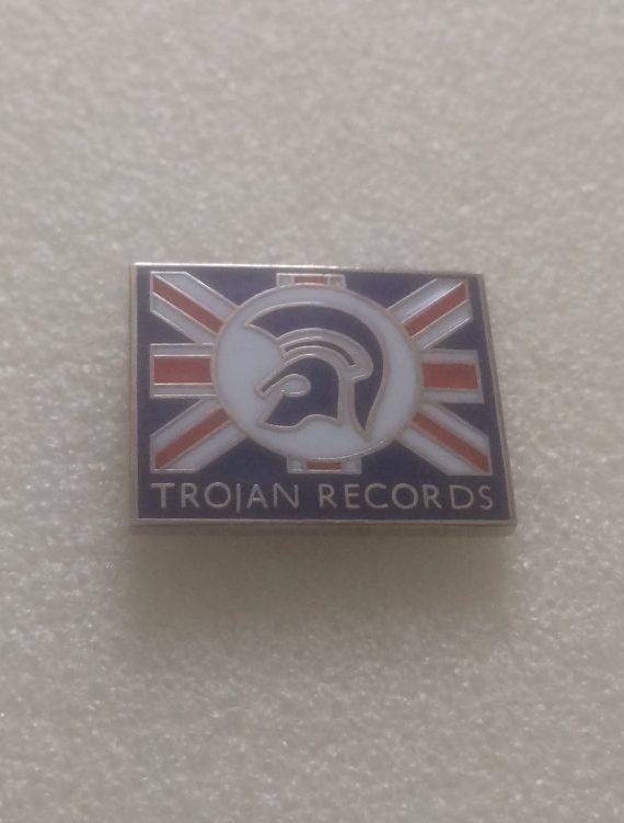 (1) Trojan Records – Enamel Badge