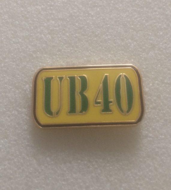 (2) UB40 Enamel Badge – Birmingham Reggae Legends