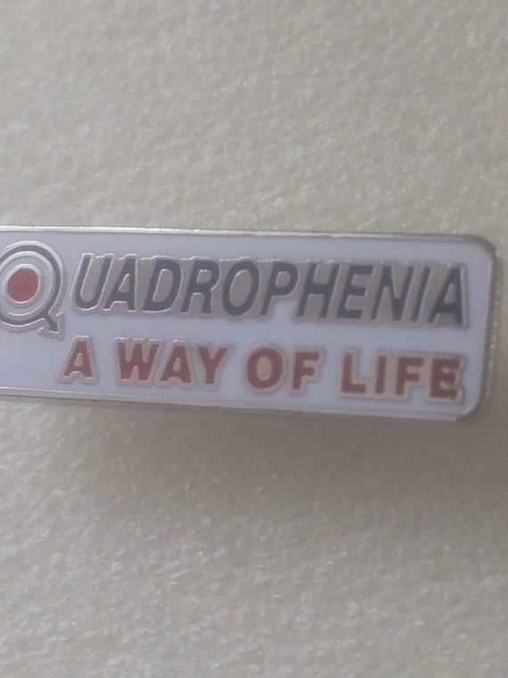Quadrophenia Away of life – Enamel Badge