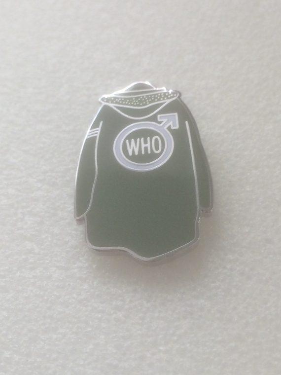 The Who Parker Design Enamel Badge