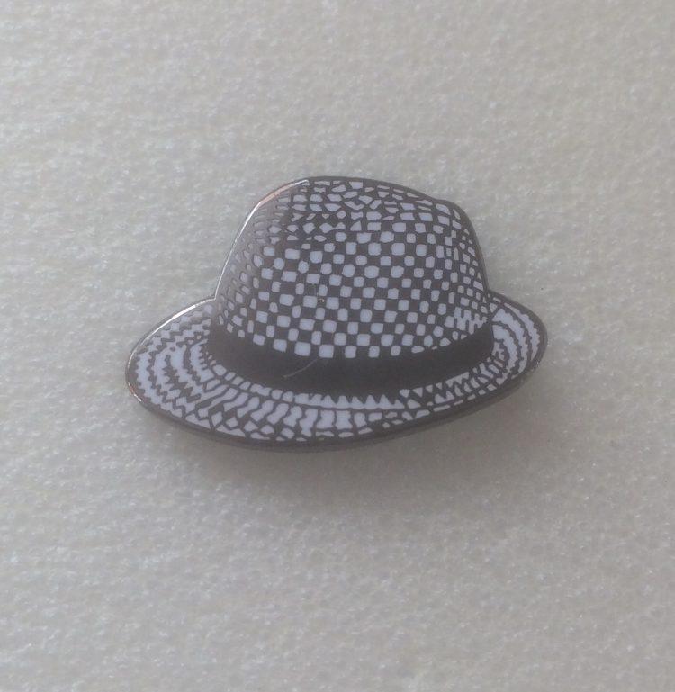 Ska Pork Pie Hat – Enamel Badge