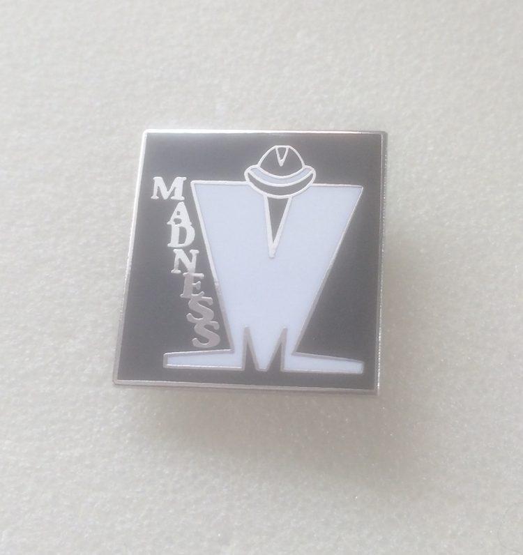 Madness Square Enamel Badge (1)