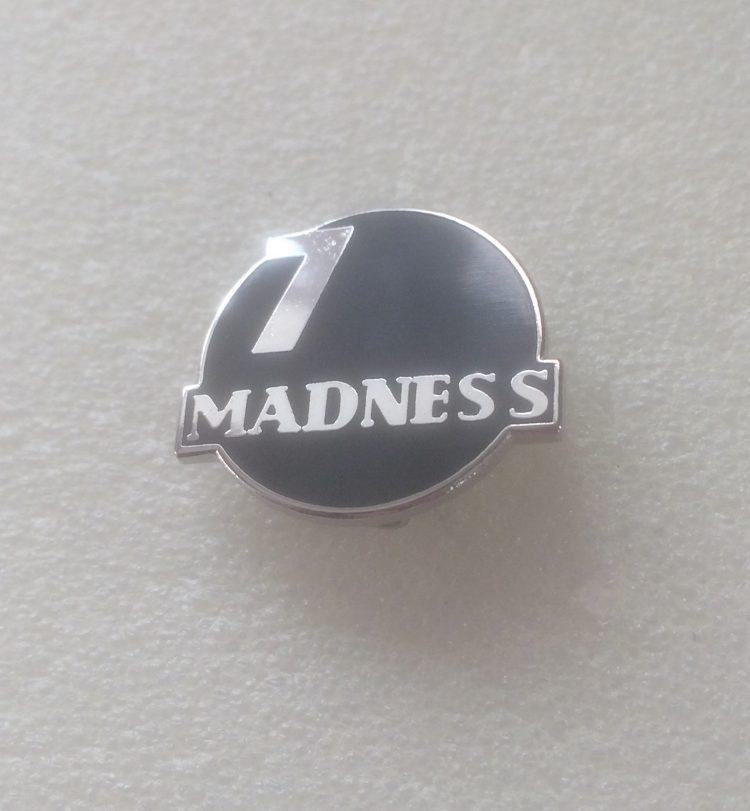 Madness 7 BALL – Enamel Badge