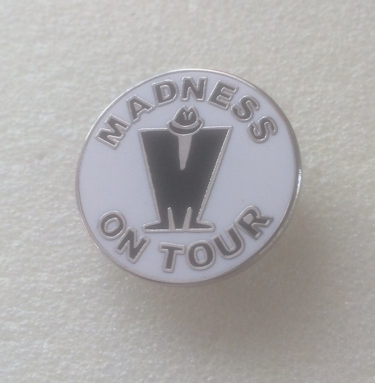 Madness on Tour Enamel Badge (1)