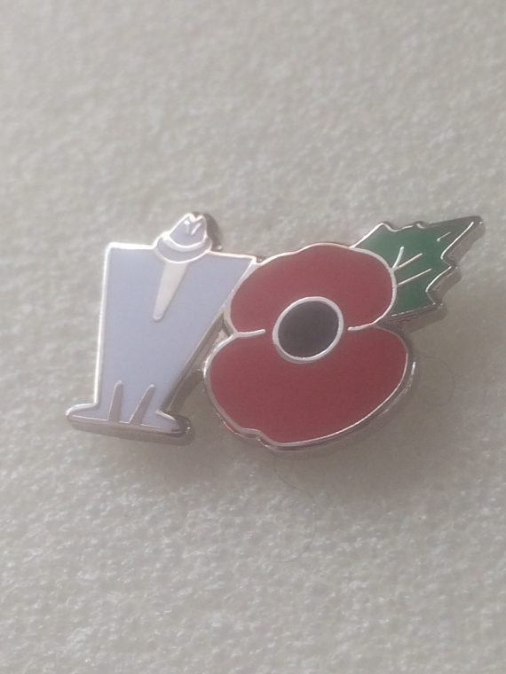 Madness Poppy Enamel Badge