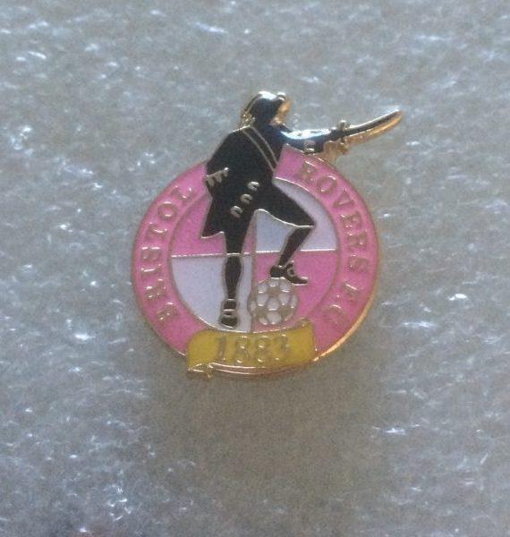 Bristol Rovers – Large Pink Crest